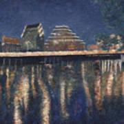 Austin At Night Poster