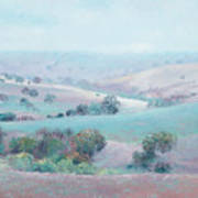 Australian Country Landscape Painting Poster