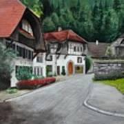 Austrian Village Poster