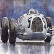 Auto-union Type C 1936 Poster