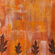 Autumn Abstract Art  Poster