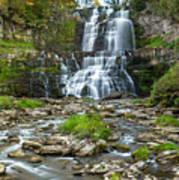 Autumn At Chittenango Falls Poster