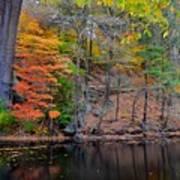 Autumn At Echo Bridge Poster
