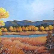 Autumn At Fraser Valley 2 Poster