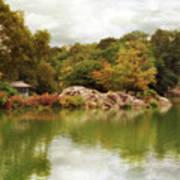 Autumn At Hernshead Poster