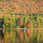 Autumn At North Lake Poster
