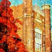 Autumn At Nwmsu Poster