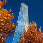 Autumn At One Wtc Poster