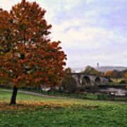 Autumn At Stirling Bridge Poster