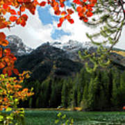 Autumn At String Lake Poster