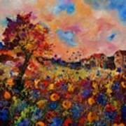 Autumn Colors  Poster by Pol Ledent