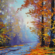 Autumn Colours Poster by Graham Gercken