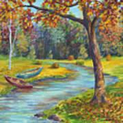 Autumn Daze Splendor  Poster