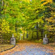 Autumn Entrance 3 Poster