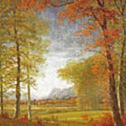 Autumn In America Poster