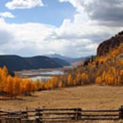 Autumn In Colorado Poster