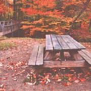 Autumn In High Bridge Poster