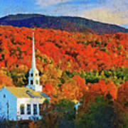Autumn In New England - 04 Poster