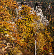 Autumn In Saxon Switzerland Poster