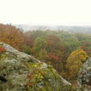 Autumn In Shawnee Poster