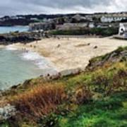 Autumn In St Ives Poster