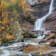 Autumn Kaaterskill Falls Square Poster