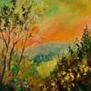 Autumn Landscape 5698 Poster