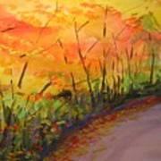 Autumn Lane IIi Poster