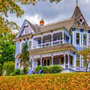 Autumn Mansion Poster