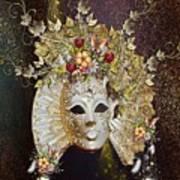 Autumn Mask Poster