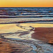 Autumn Merging - Sauble Beach 6 Poster