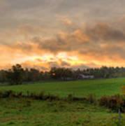 Autumn Morning Poster by David Bishop