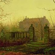 Autumn Morning Poster by John Atkinson Grimshaw