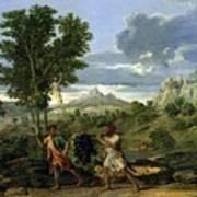 Autumn Nicolas Poussin Poster