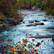 Autumn On Wilson Creek Poster