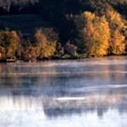 Autumn On Wisconsin River Poster