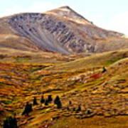 Autumn Peaks In The Rockies Poster