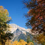 Autumn Peaks Poster
