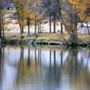 Autumn Reflection 16 Poster