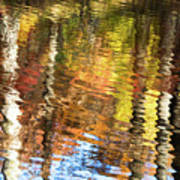 Autumn Reflections-3 Poster