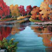 Autumn Reflexions 1 Poster
