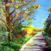 Autumn Roads Poster