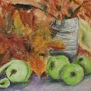 Autumn Still Life Poster