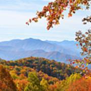 Autumn View Of The Smokies Poster