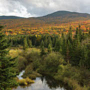 Autumn - White Mountains New Hampshire Poster