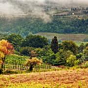 Autumnal Hills Poster