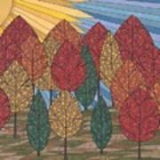Autumn's Glow Poster