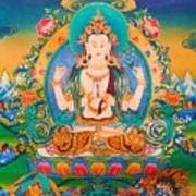 Four-armed Avalokiteshvara Poster