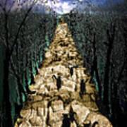 Avenue Des Chats Poster