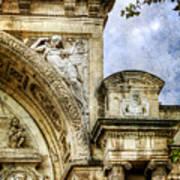 Avignon Opera House Muse 2 - Vintage Version Poster